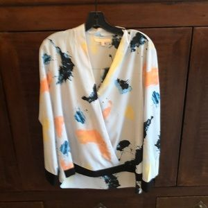 Gibson Latimer High Low Blouse